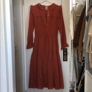 Gaia Dress from Aritzia's Le Boheme Collection